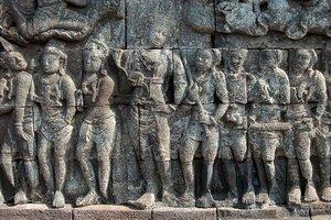 Relief Candi Borobudur 10