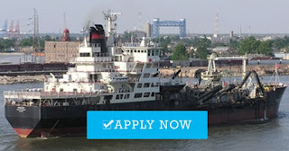 Recruitment crew for dredger vessel