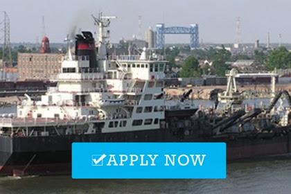 Recruitment crew for dredger vessel