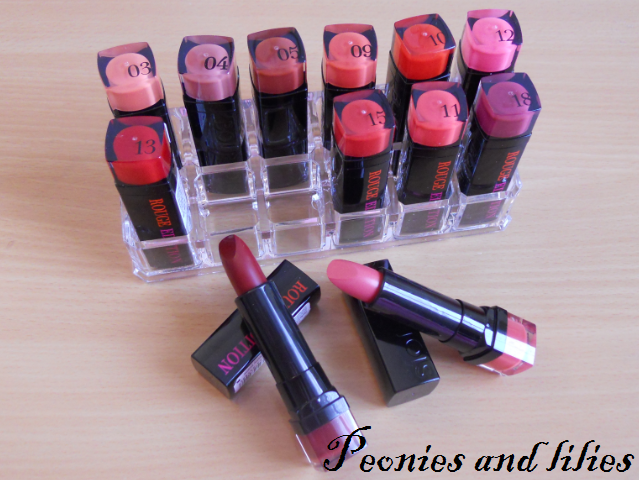 Bourjois rouge edition lipsticks