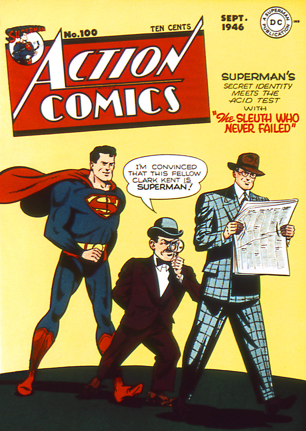 Read online Action Comics (1938) comic -  Issue #100 - 1