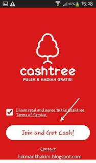 join dan dapatkan cash dari cashtree