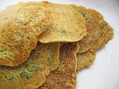 Chickpea Flour Cr\u00eapes | Lisa\u0026#39;s Kitchen | Vegetarian ...