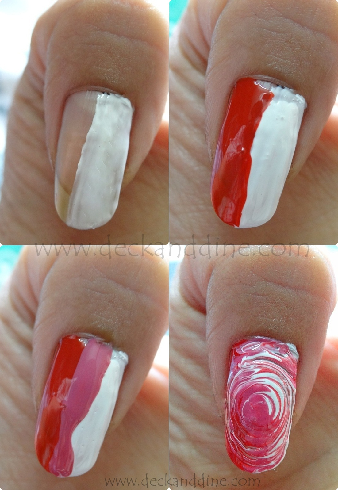 Swirl nail art for beginners step by step tutorial deck and dine swirl nail art for beginners step by step tutorial baditri Gallery