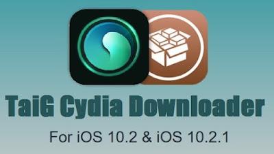 Taig-cydia-downloader-for-ios-10-2-1 Cydia obtain iOS 10.2.1 with TaiG jailbreak Jailbreak