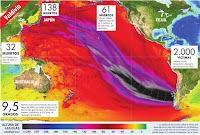 Alcance del tsunami