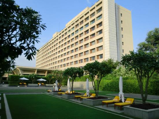 The Oberoi Hotel, New Delhi, is a synonym of palatial accommodation.