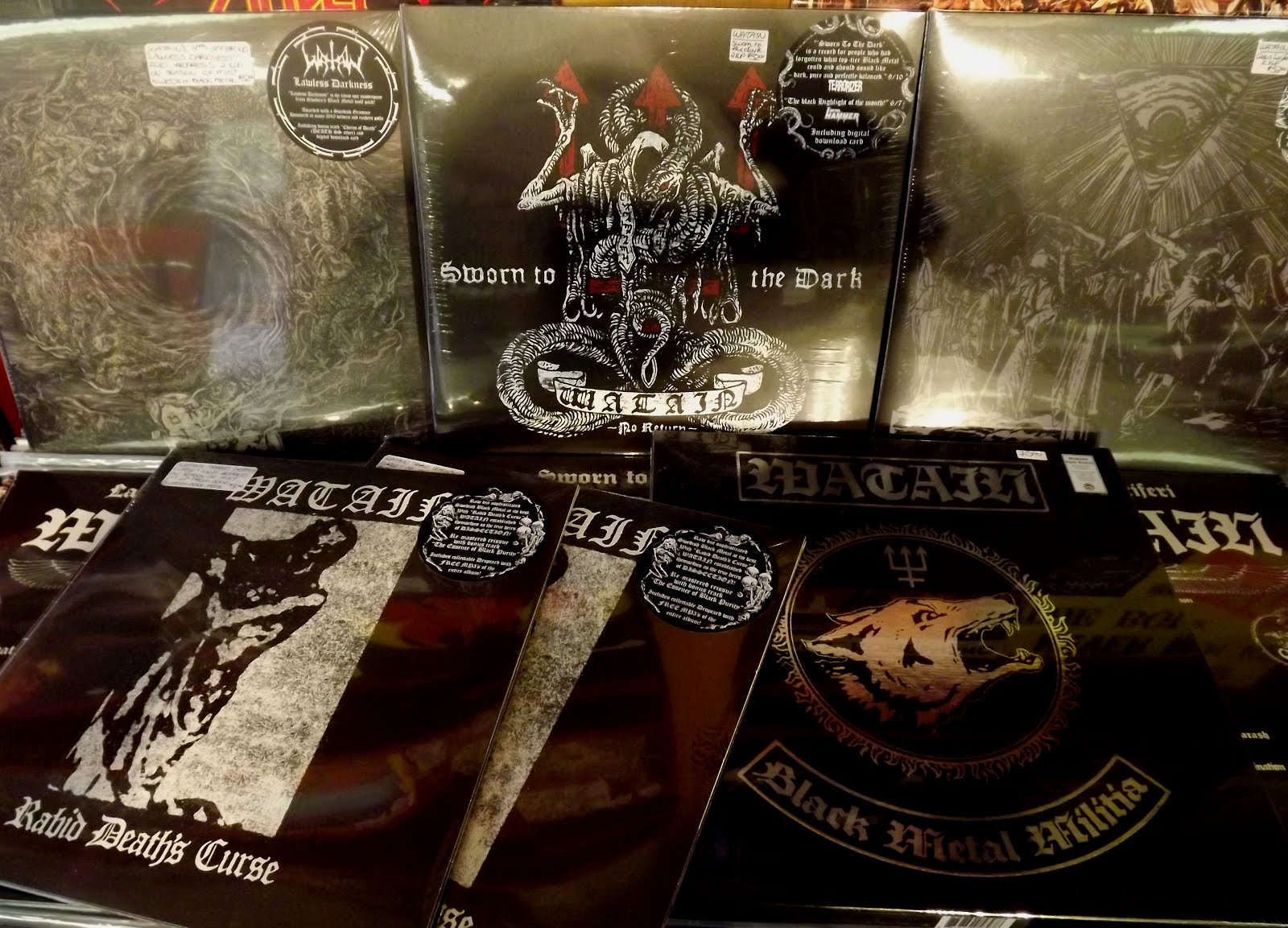 Black Raven Records New Arrivals December 11th 2012