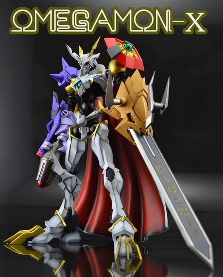 3d Wallpaper Live Wallpaper Gg Figure News Gk Model Omegamon X Painted Build