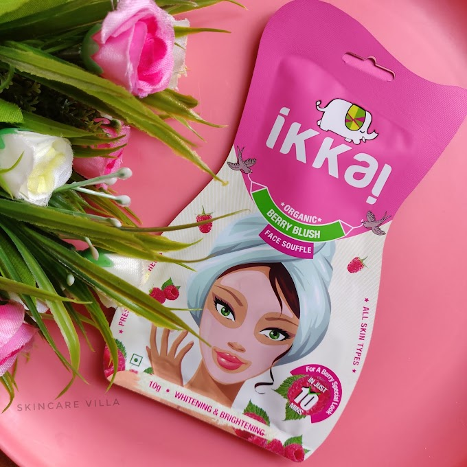 Ikkai by Lotus Herbals Berry Blush Face Souffle Review