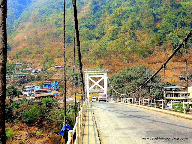 Bridge between Kathmandu and Pokhara
