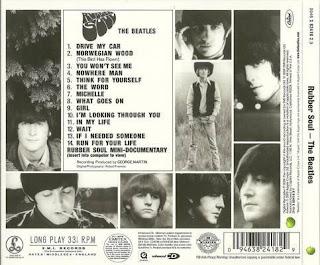 Historia The Beatles Fab Four Rubber Soul Album