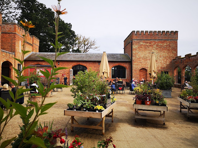 Felbrigg Hall restaurant courtyard