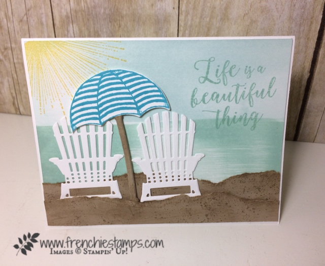 Colorful Season, dragging ink, Seasonal Layers, Umbrella Weather, Weather Together, Wherever You Go, Stampin'Up!
