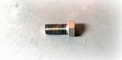 "Custom 316 Stainless Hex Bolts - 13/16-10 X 1.75"" Hex Head Fully Threaded"