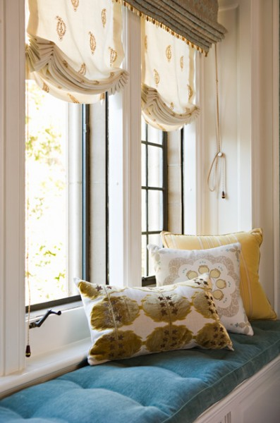 Eat Sleep Breathe Design Roman Shades