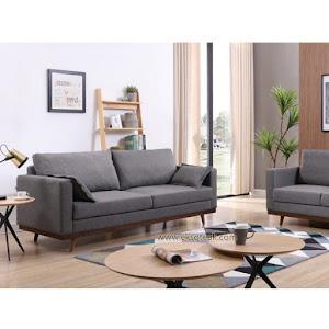 Set Kursi Sofa Tamu Minimalis 3 2 + Meja Seri Boston