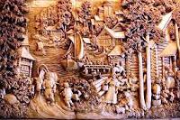 Seni ukir kayu sebagai keterangan dari pengertian seni kriya
