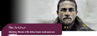 Promoção Atlântica Hotels 2017 Filme Rei Arthur Viagem Inglaterra