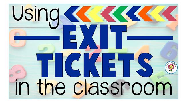 Exit Tickets in the Classroom