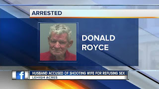 Donald Royce Florida Man Shoots Wife Over Sex