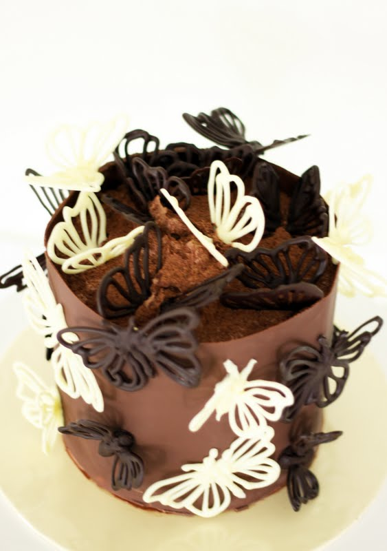 Sweet Art Cakes By Milbre 233 Moments Butterfly Chocolate Cake