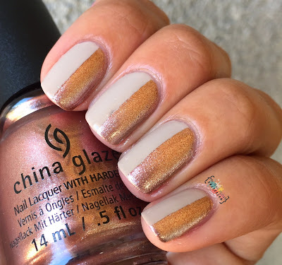 China Glaze Desert Escape Nail Art