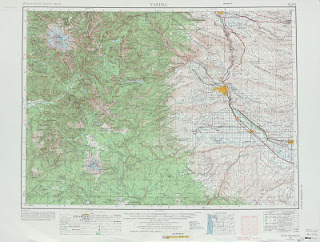 Yakima United Stats 250000 (250k) Topographic map free download