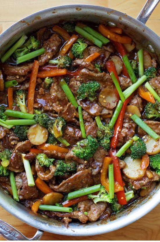 30 Minute Mongolian Beef Stir-Fry