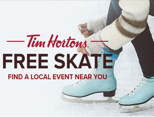 Tim Hortons Free Skate Schedule