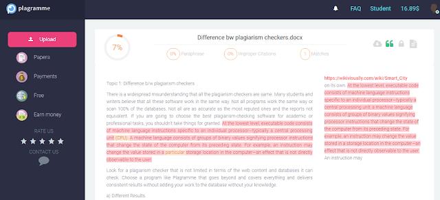 Plagramme Plagiarism checker