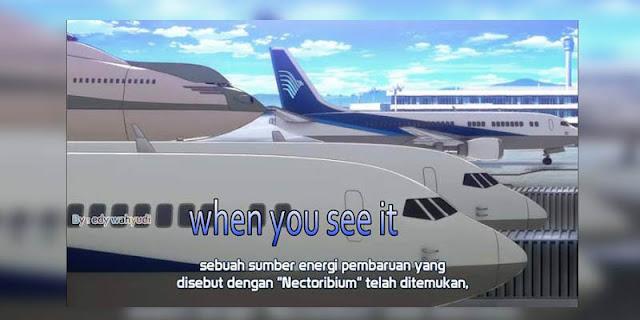 Unsur Indonesia yang terdapat pada anime Buddy Complex
