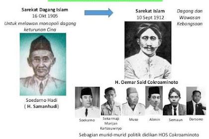 PKI Lahir Dari Perpecahan Di Tubuh Sarekat Islam