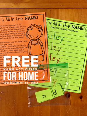 Fun Name Activities for Kindergarten