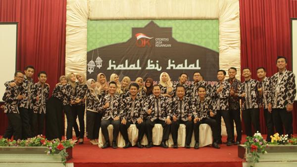 Halal Bi Halal Kantor Otoritas Jasa Keuangan