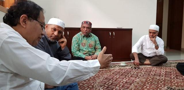 Di Balik Pertemuan Ustad Husein Alatas Dengan Dr. Rizal Ramli