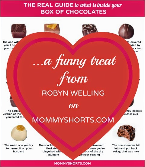 Real Guide to What's Inside Your Box of Chocolates by Robyn Welling on Mommy Shorts