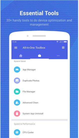 Aplikasi Wajib buat Android: All-In-One Toolbox APK