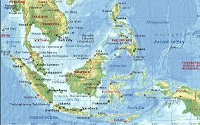 Peta Geografis Indonesia