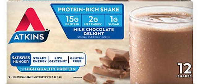 atkins milk chocolate delight shake keto