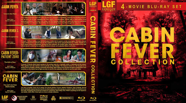 Cabin Fever Collection Bluray Cover