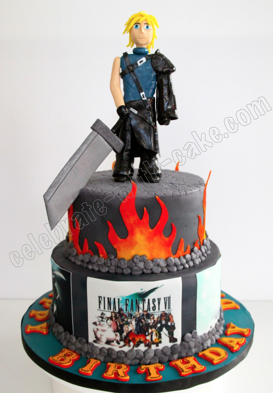 Final Fantasy Cake