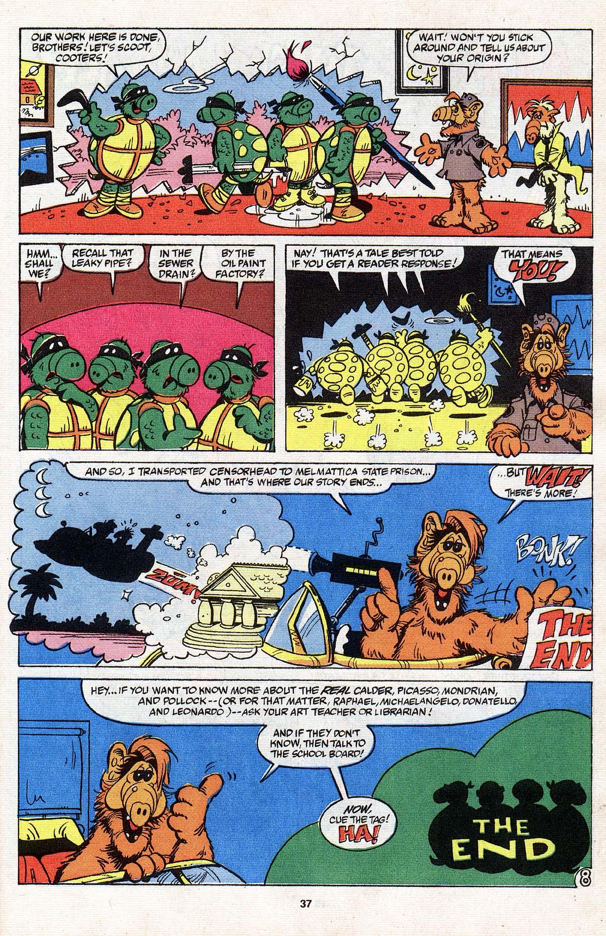 Read online ALF comic -  Issue # _Annual 3 - 33