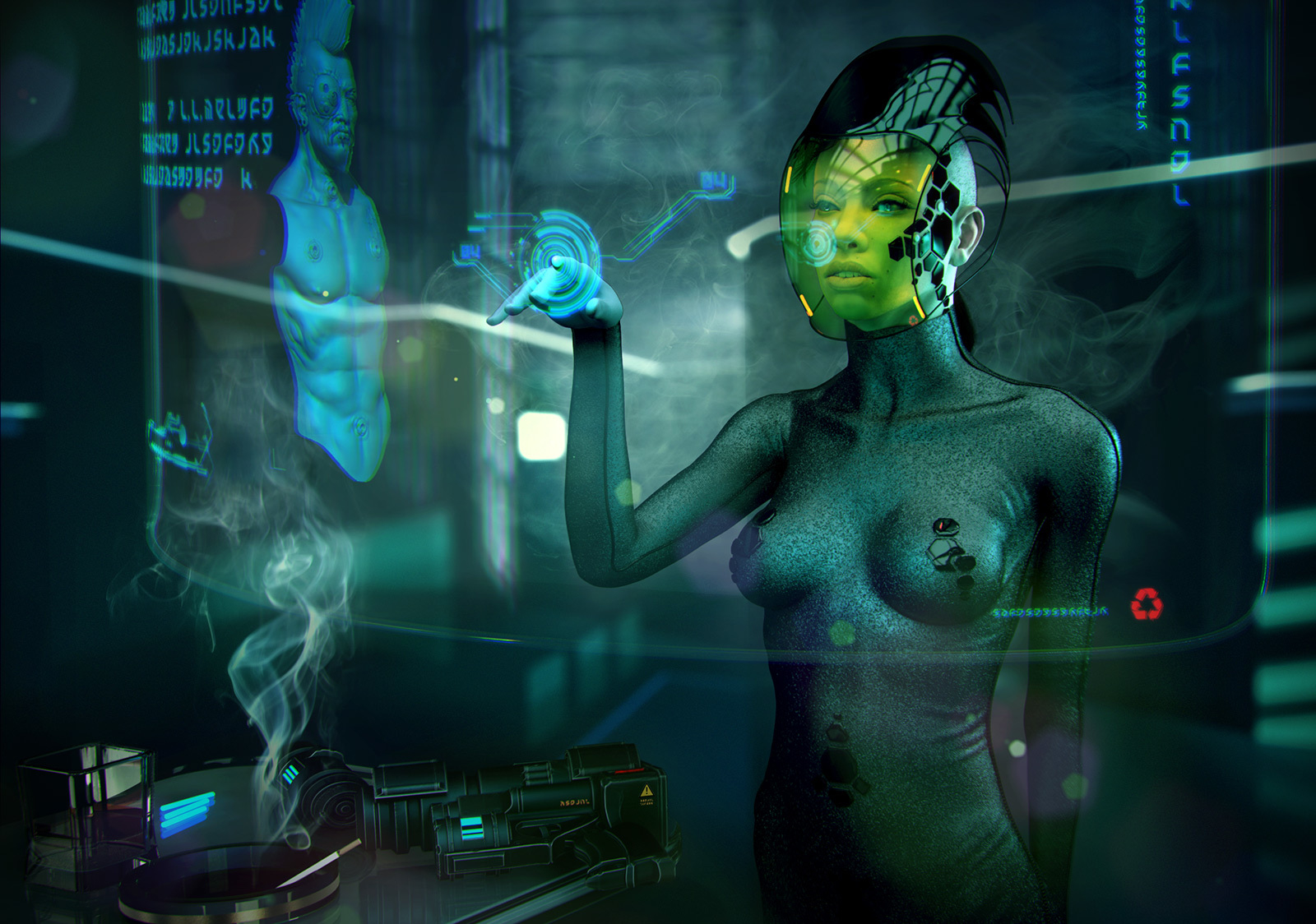 Naked women of science fiction