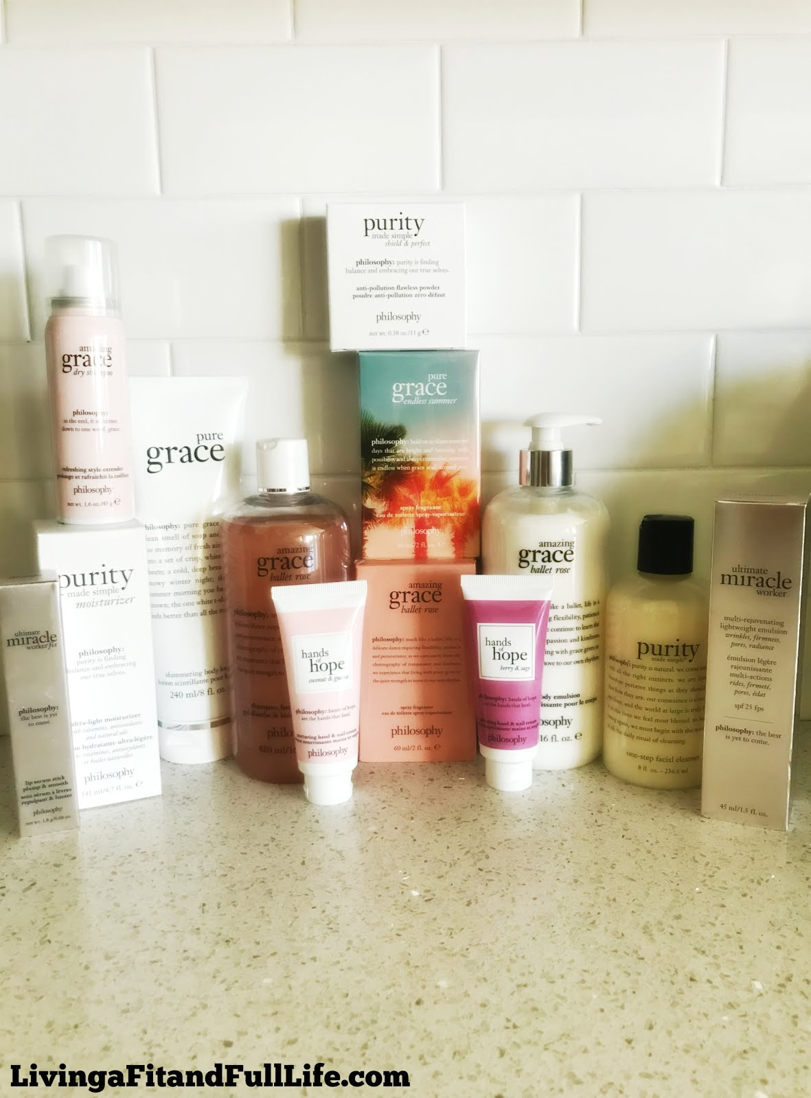 Summer Favorites from philosophy! #lovephilosophy