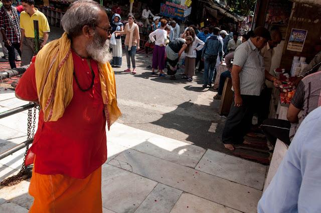 Gente en Pushkar