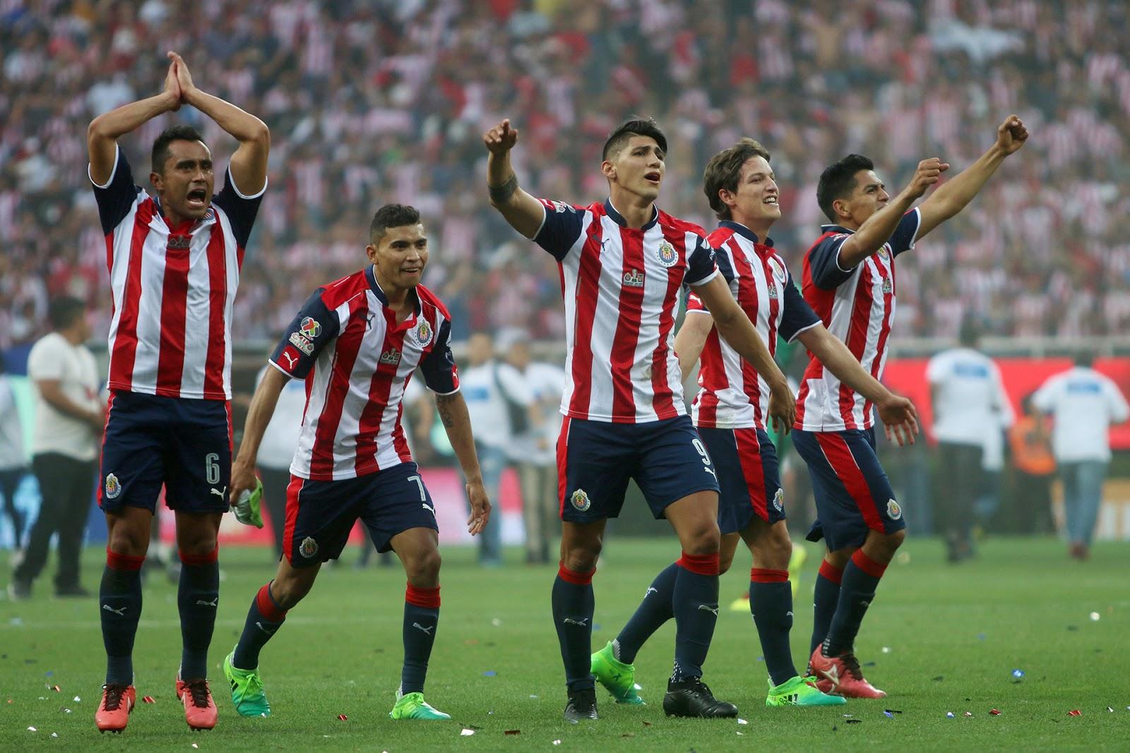 A Chivas le siguen Le siguen Corinthians, Flamengo, Boca y River.