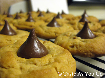 Chunky Peanut Butter Cookies - Photo by Michelle Judd of Taste As You Go