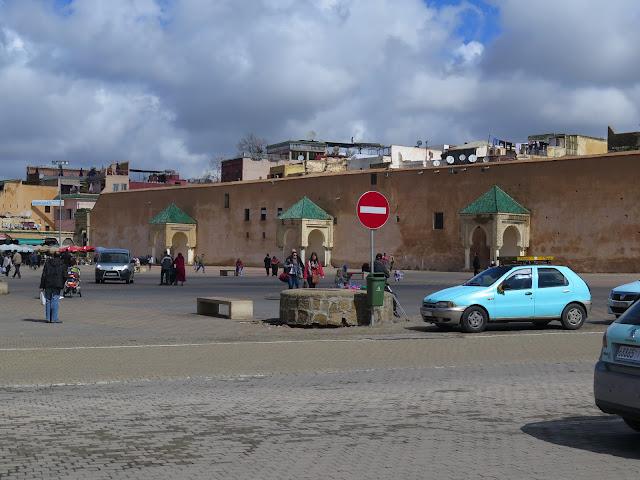 Plaza el Hedim Meknes