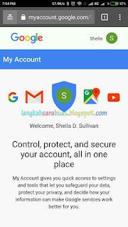 Cara Mengganti Password Akun Google / Gmail Dari HP Android